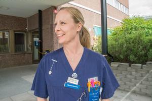 Efter 16 år inom poliskåren gick Malin Mårtensson-Szilagyi tillbaka till sjukvården.