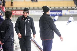 Sandvikens tränare Magnus Brodén.