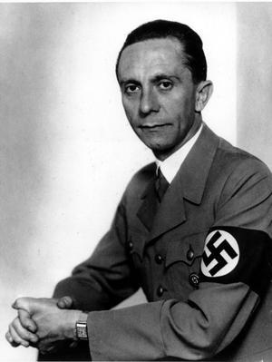 Propagandaminister Joseph Goebbels.