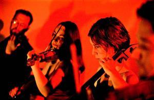 Weberkvartetten består av Ronnie Weber, violin I, Ellinor Weber, violin II, Anna Jonshult, cello, och Patrik Eriksson, viola.