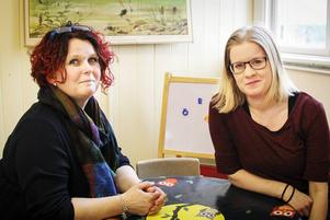 Helén Hansson och Emma Hallgren är glada att kunna öppna Västansjö förskola.