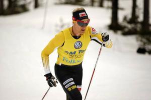 Jens Eriksson blev svensk mästare på skidor 50 kilometer.