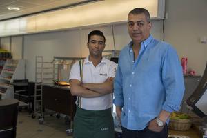 Ramos Hammad och ägaren Khalid