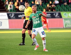 Rasmus Lindgren spelade hela matchen mot Åtvidaberg.