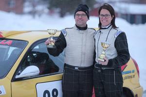 Mattias och Emma Hägg hade inga goda minnen från tidigare rallybravader i Sveg men den här gången föll bitarna på plats.