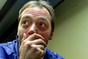 Mika Myllylä 1991. Han var en av de finska skidåkare som stängdes av efter doping upptäckts i det finska landslaget vid VM i Lahtis 2001. Han drabbades senare av alkoholproblem.