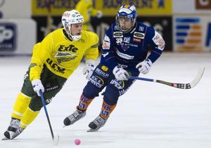 Ljusdals norske mittfältare Mathias Stavis.
