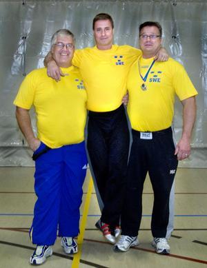 Tre stora starka från Hälsingland: Benny Engberg, Tommy Hellström och Mats Hedberg.