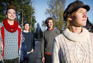 Koloniens fyra medlemmar.
