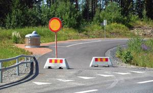 Stoppskyltar och gråsuggor hindrar att rastplatserna i Bispgården används.