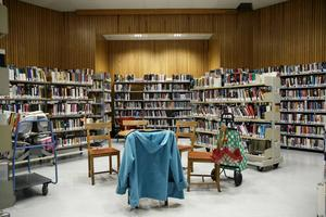 Antalet bibliotek i landet minskar.