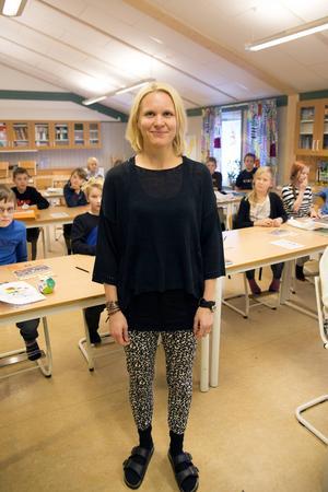 Anna Evjen lärarde på Björkbacke skola.