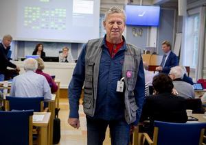 Lars-Gunnar Hultin (V) kunde inte stoppa avvecklingen av BUP i Kramfors.