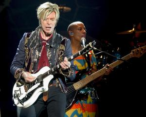 David Bowie i Boston 2004.