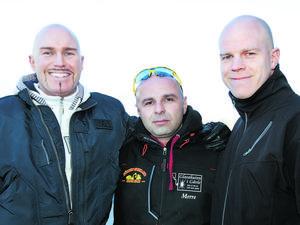 Mats Huldt, längst till höger. Bilden är tagen i ett annat sammanhang.