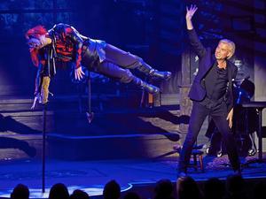 Joe Labero och Peter Knutson i showen