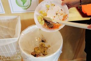 Det ska bli mindre mängd kasserad mat i Ljusdals skolor efter höstens projekt.