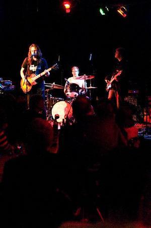 Sannetorp Bluesband med Mats Sannetorp i spetsen drog av svenska och amerikanske godingar under lördagens vårblues.