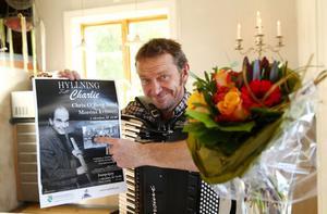 Årets Charlie Norman-pris gick till Bengan Jansson från Hjortnäs i Leksand.