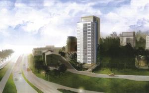 Telge bostäder planerar nya hus på Stockholmsberget.