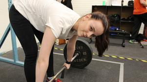 17-åriga Joanna Thyni togh silver i Landskrona.