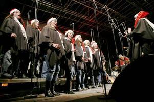 I hård konkurrens av Herrsällskapet, Forsbacka Kammarkör och Hudiksvalls kammarkör röstades Coffee Bean Show Chorus fram till årets julkör.