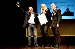 IT-företaget KAJ63 blev årets företagare i Östersund 2013.