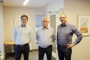 Niklas Pettersson, Jan-Erik Lundman och Roger Hydén blir arbetskamrater i företaget Enerco Bäckströms.