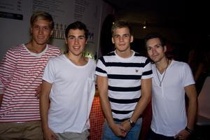Fredrik, Jocke, Sebastian, Henke (Pluto)