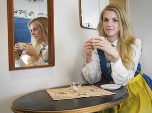 Den första skönhetstävling som Sofie Vest deltog i var Miss World Sweden, i maj i fjol.   Foto: Wilma Eliasson