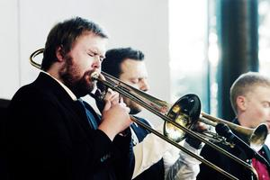 Trombonisten Peter Fredriksson tar över som ordförande för jazz- och bluesfestivalen Bangen i Sandviken.