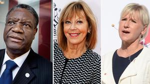 Denis Mukwege, Margot Wahlström och Lill Lindfors kommer att delta på konferesen i Örebro.