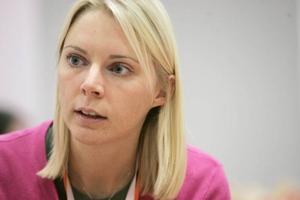 Åsa Westlund (S).Eva-Britt Svensson (V).