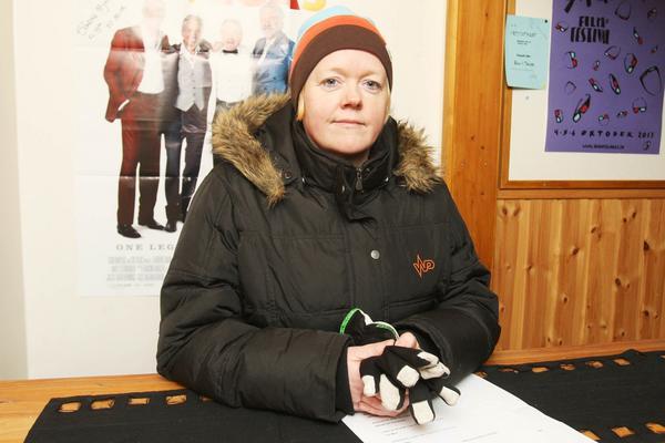 Annelie Rahmqvist är ordförande i filmgruppen i Tännäs.