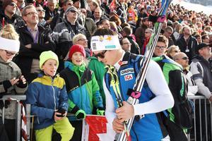 André Myhrer står redo att göra sitt tredje raka OS. Efter fjärdeplatsen i Turin 2006 och bronset i Vancouver 2010 är det guld som gäller i Sotji.