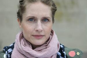 Jenny Hellström från Hofors är designer och ny programledare på SVT.