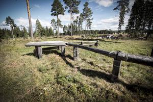 Terrängbanan vid Frösöstallet byggdes 1992, men har under senare år stått oanvänd och förfallit. De flesta hinder har nu renoverats och går att använda igen.