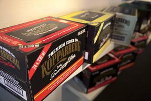 Cidern från Kopparbergs kan åka med av bara farten i världens största bryggeriaffär