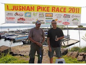 Team VVV bestående av Anders Thuresson från Bollnäs och Patrik Wikman från Älvkarleby tog hem segern i lördagens fisketävling på Marmen.