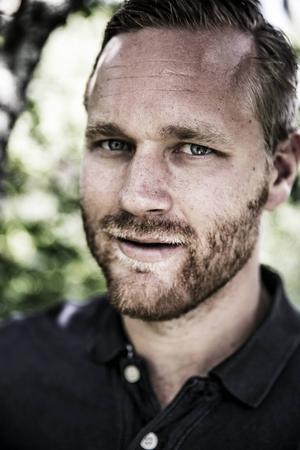 Jens Bergenström arbetar numera som mäklare i Borlänge. Foto: Johan Lundahl