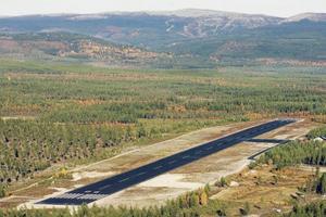 En lokalisering av Härjedalens flyg till Hedeviken skulle få följden att avstånden till flygplatsen från Sveg blir 6 mil, från Funäsdalen 7 mil och från Vemdalens tre skidområden 1 – 4 mil.