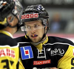 Avstängd. Viktor Mårtensson får inte spela mot varken Rögle eller Örebro. Foto: Arkiv