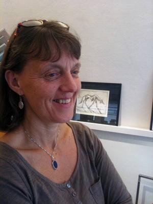 Anki Hallqvist har tagit över stafettpinnen på Svenssons Ramar. Foto: Linda Petersson