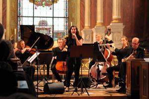 Kani och Dilyar bjöd på kurdisk klassisk musik under kammarmusikfestivalen Musik mellan fjärdarna, i Hudiksvall.