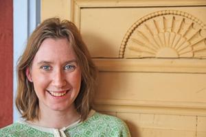 Mélanie Platzgummer Söderström är världsarvskoordinator i Bollnäs kommun.