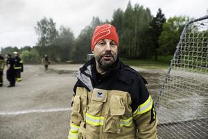 Lars L Hammarström, inre befäl räddningstjänsten medelpad.