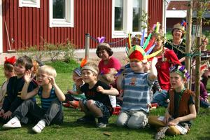 Förskolans dag firades i Hidinge.