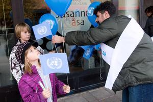FN-dagen på Hammartorget 2010.