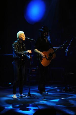 Fortfarande en av de största. Marie Fredriksson möttes med stående ovationer på Gävle konserthus. FOTO: PEDER ANDERSSON