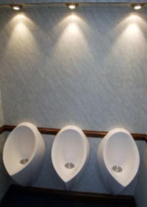 Urinoarer modell de luxe.